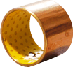 cylindrical wrapped bushing