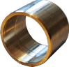 solid bronze and brass bearing