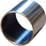 steel - sintered bronze - PTFE composite bearing