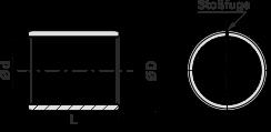 SP2-C gerollte Buchsen - wartungsfrei