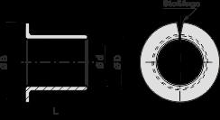 SP2-F gerollte Bundbuchsen - wartungsfrei