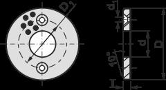 SLW maintenance-free plain bearing
