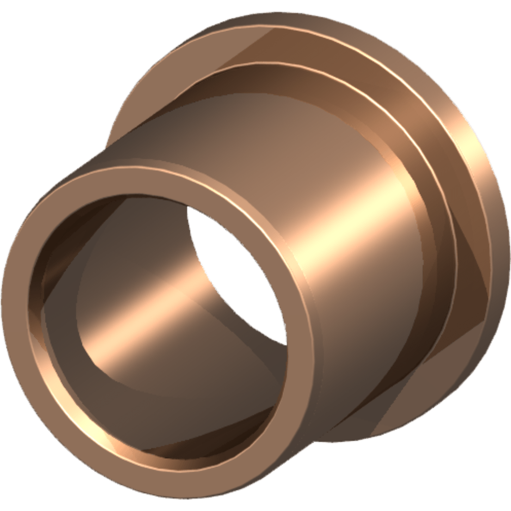 SLSM-F flanged bearing bushings - maintenance-free