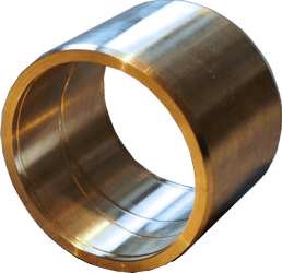 RG7 bushing with helical groove